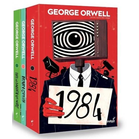İndigo Kitap - George Orwell Seti - 3 Kitap Takım