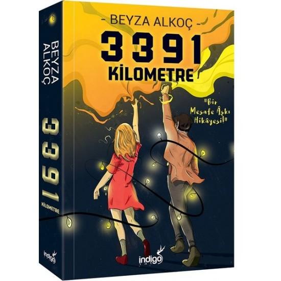 İndigo Kitap - 3391 Kilometre (Ciltsiz) Beyza Alkoç